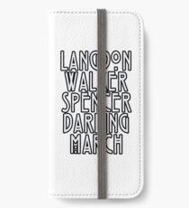 Evan Peters iPhone Wallet/Case/Skin