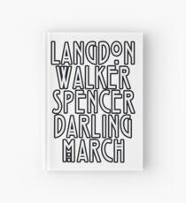 Evan Peters Hardcover Journal