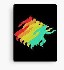 Retro Bladerunner Canvas Print