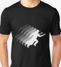 Retro Bladerunner (Gray/Grey Scale) Unisex T-Shirt