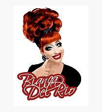 Bianca Del Rio, RuPaul's Drag Race Queen Photographic Print