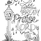 Let everything that hath breath PRAISE THE LORD by designing31