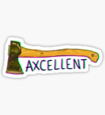 Axcellent Axe Sticker