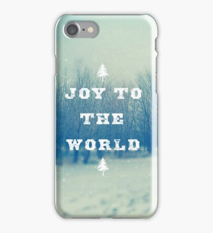Joy To The World iPhone Case/Skin