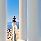 Marshall Point Lighthouse III  by Marianne Campolongo