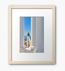 Marshall Point Lighthouse III  Framed Print