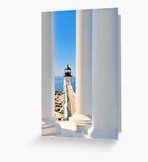 Marshall Point Lighthouse III  Greeting Card