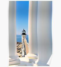 Marshall Point Lighthouse III  Poster