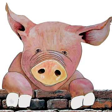 nosey pig by Royisaacs