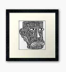 Funny Man  Framed Print