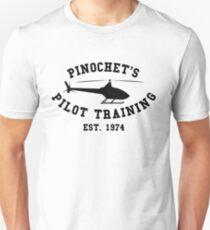 PINOCHET'S PILOT TRAINING BLACK T-Shirt
