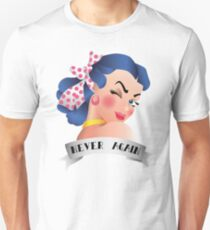 Never Again Pin-up Unisex T-Shirt