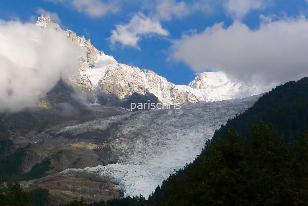 Bossons Glacier, Chamonix by parischris