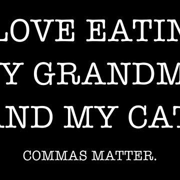Commas Matter by deheleisa