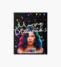 Marina und die Diamanten Froot Galeriedruck