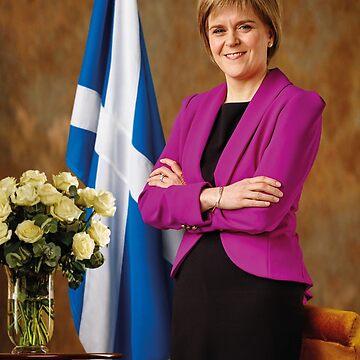 FM Nicola Sturgeon by Hughbris