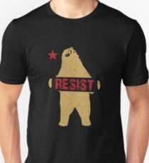 Resist Shirt Cali Bear Resist Apparel Unisex T-Shirt