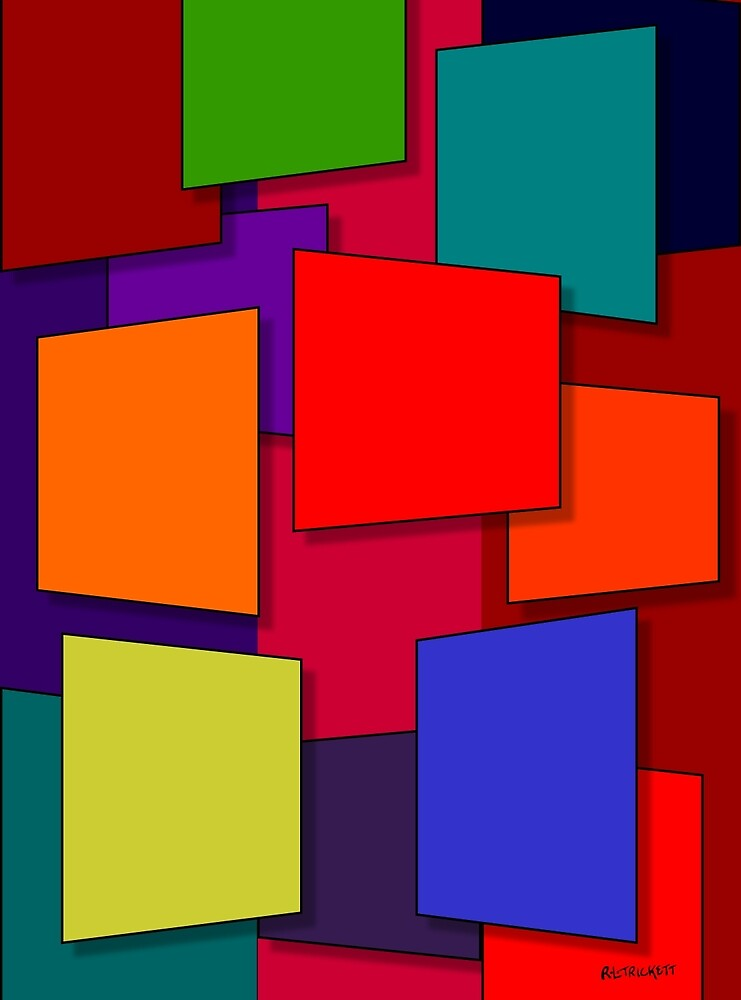 Color Bars #7 by Rockett Graphics
