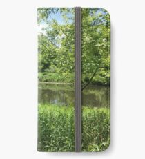 Shores of Lake Ontario - Carruthers Marsh iPhone Wallet