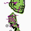 Detached Head by Bizarro Art