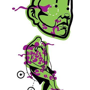 Detached Head by BizarroArt