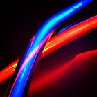 Neon Tubes - Red and Blue 1 by ATJones