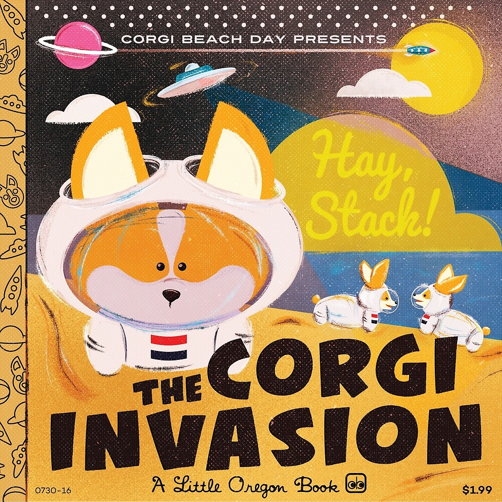 2016 - Corgi Invasion by PortlandCorgi