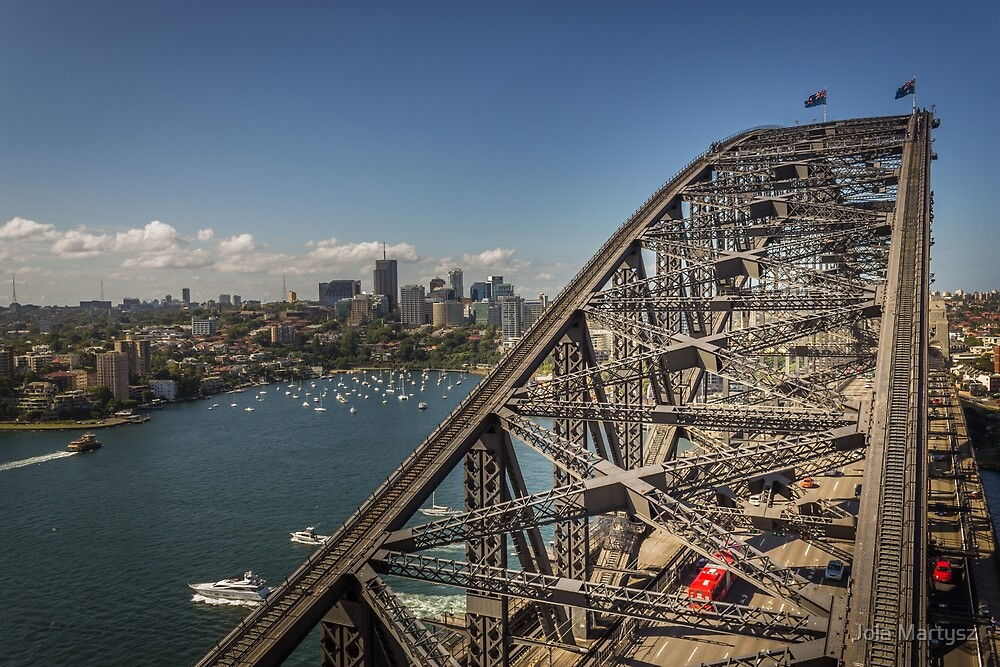 Sydney Harbour Bridge by Jola Martysz