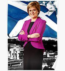 Saltire Sturgeon Poster