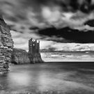 Long Exposure, Keiss Castle, Caithness, Scotland by Iain MacLean