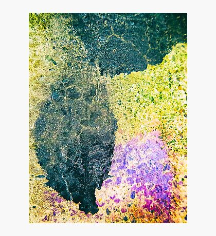 Black drip Photographic Print