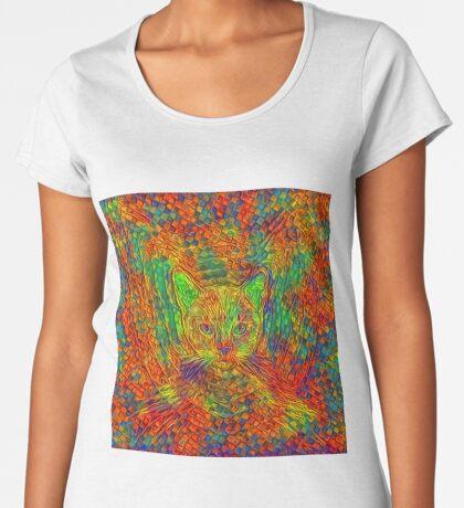 Cat Premium Scoop T-Shirt