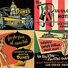 Vintage Matchbook Cover Art Collection #1 by Rockett Graphics