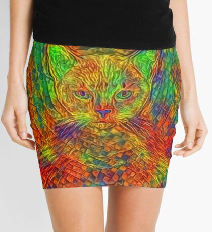 Cat Mini Skirt