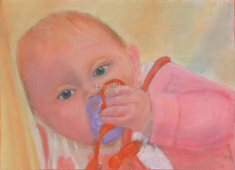 Deep in Thought (Ella Louise) by Les Sharpe
