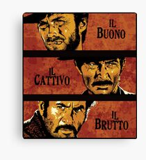 The Good, the Bad, and the Ugly Canvas Print