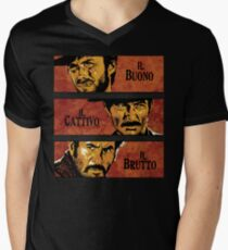 The Good, the Bad, and the Ugly Men's V-Neck T-Shirt