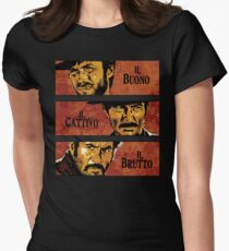 The Good, the Bad, and the Ugly Womens Fitted T-Shirt