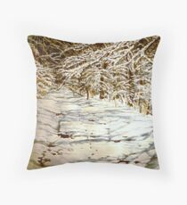 Following Max Throw Pillow