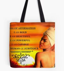 Sunset Beauty - Pride of Womanhood  Tote Bag