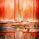 Rotten door with rusty lock by Silvia Ganora