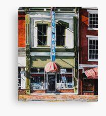 Restaurant Canvas Print