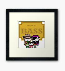 O'BABYBOT: House of Bass Family Framed Print