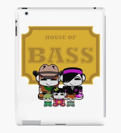 O'BABYBOT: House of Bass Family iPad Case/Skin