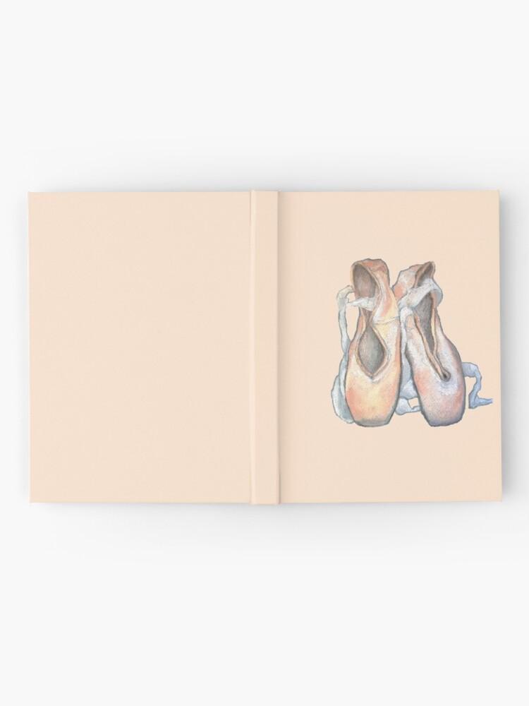 Alternative Ansicht von Pointe Pastell Notizbuch