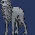 Standing Wolf by Wolven-Empress