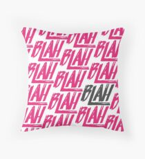 Blah Blah Blah | Spring Awakening Throw Pillow