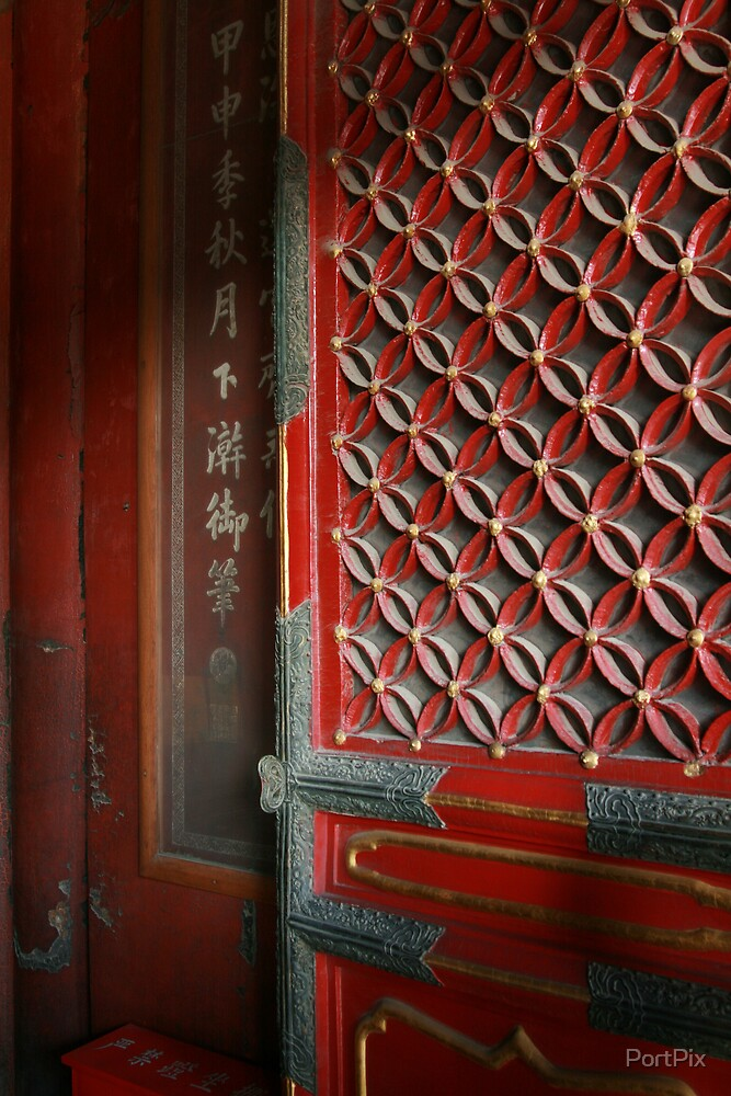 China Trip 2007 (A lovely ornate door which are everywhere) by PortPix