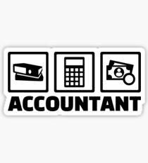 Accountant Sticker