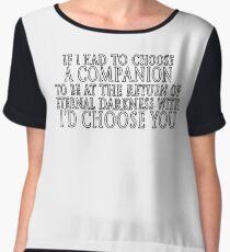 I'd Choose You Women's Chiffon Top
